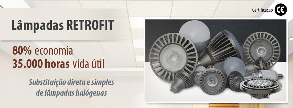 Lâmpadas Retrofit